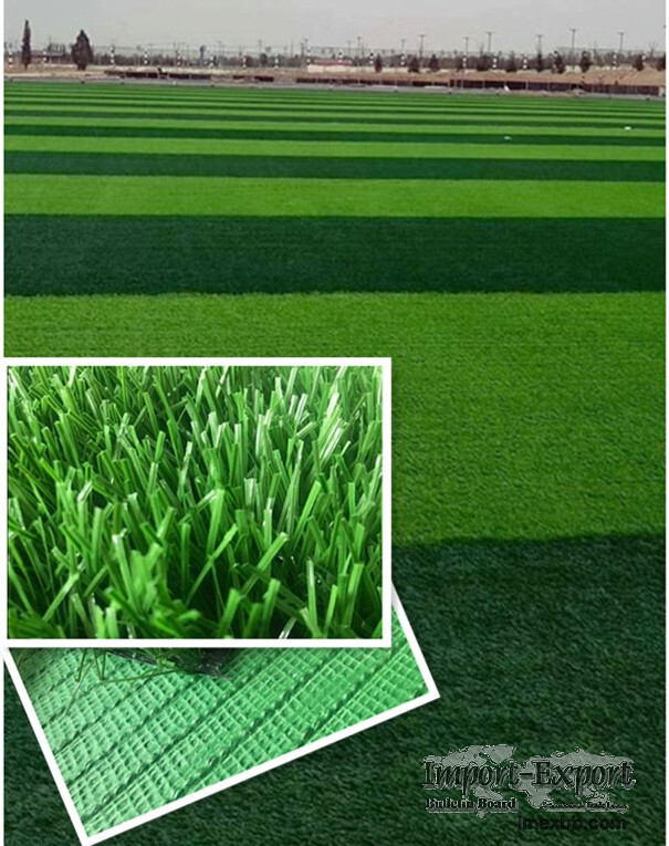 Artificial grass for football playground