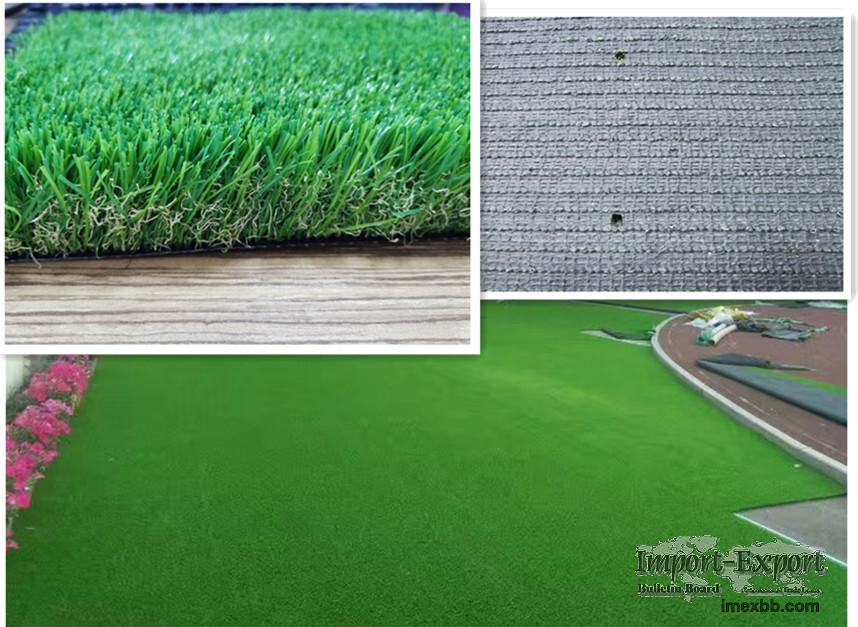 Three color landscape artificial grass/plants  for garden