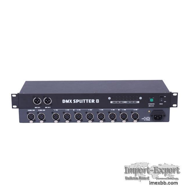 Dj Light, In2 Out8 DMX Splitter (PHD018)