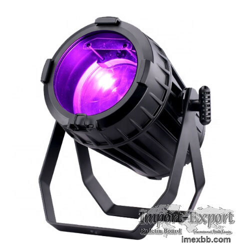 Studio Lighting, 150W RGBW 4-in-1 COB LED Par Can With Zoom (PHN032)