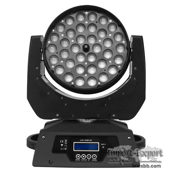 Dj Light, 36*15W 6in1 LED Moving Head Light With Zoom  (PHN066)