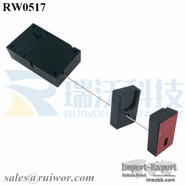 RW0517 Cuboid Retractable Pull Box with Magnetic Clasps Holder