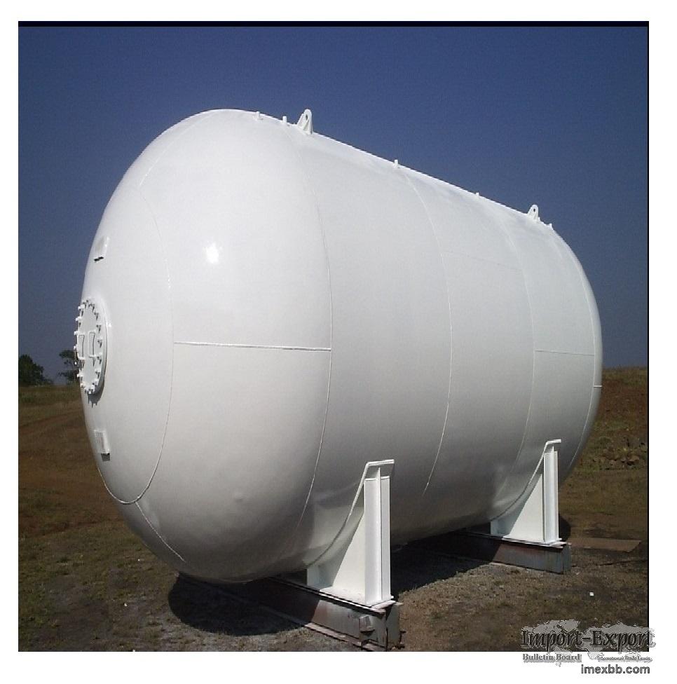 Used Propane Bobtail truck tank