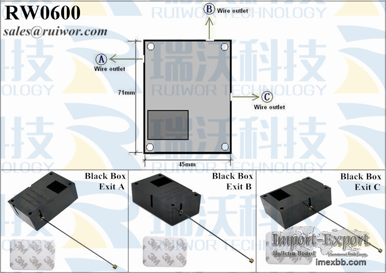 RW0600 Cuboid Security Pull Box Plus Stop Function