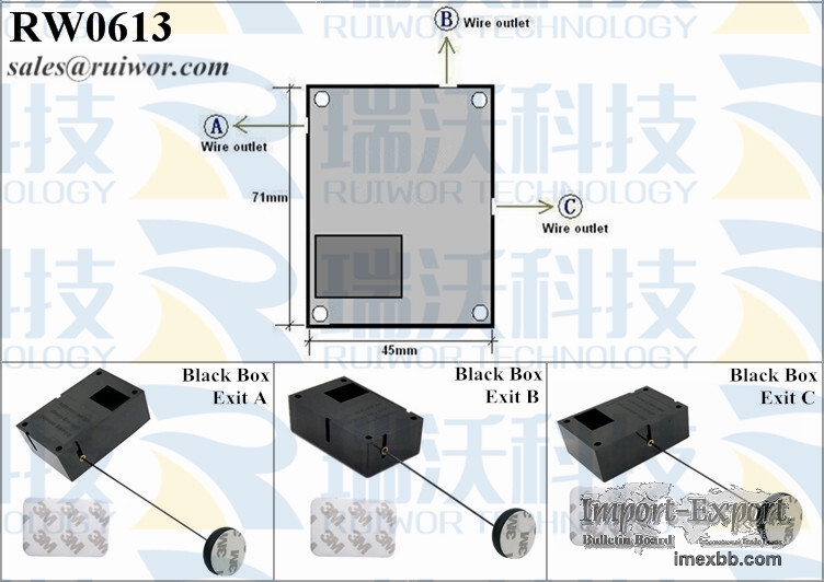 RW0613 Cuboid Secure-pulling Box Plus Pause Function Adhesive ABS Block