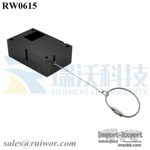 RW0615 Cuboid Secure Pulls With Size Customizable Wire Rope Ring Catch