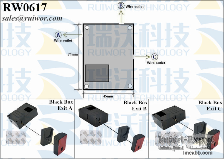 RW0617 Cuboid Recoil Pulling-box Plus Pause Function Magnetic Holder