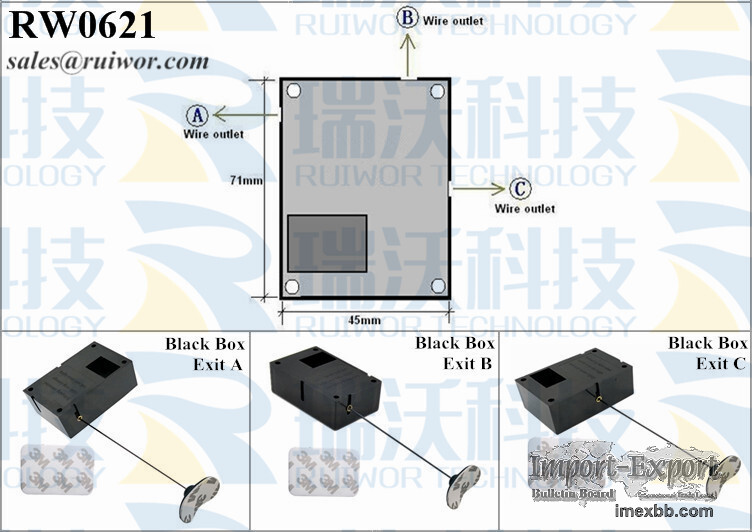 RW0621 Cuboid Recoil Pull Box Plus Pause Function and Sticky Flexible Tips