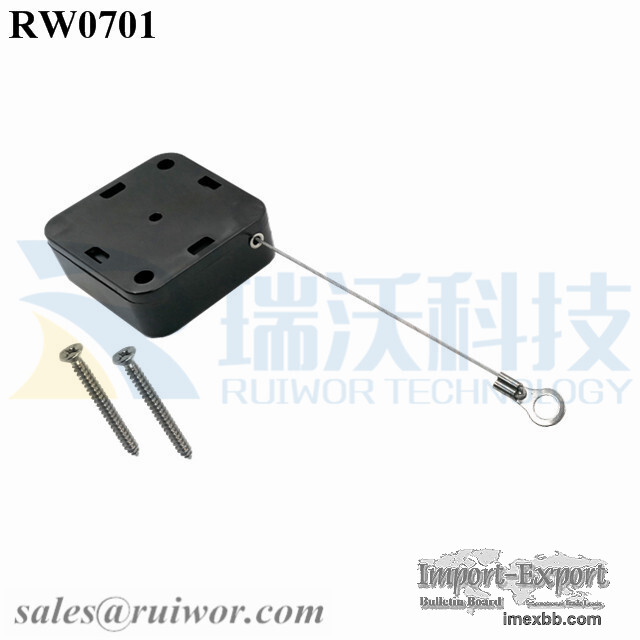 RW0701 Square Heavy Recoiler Pull Box Plus Ring Terminal Inner Hole 3mm/5mm
