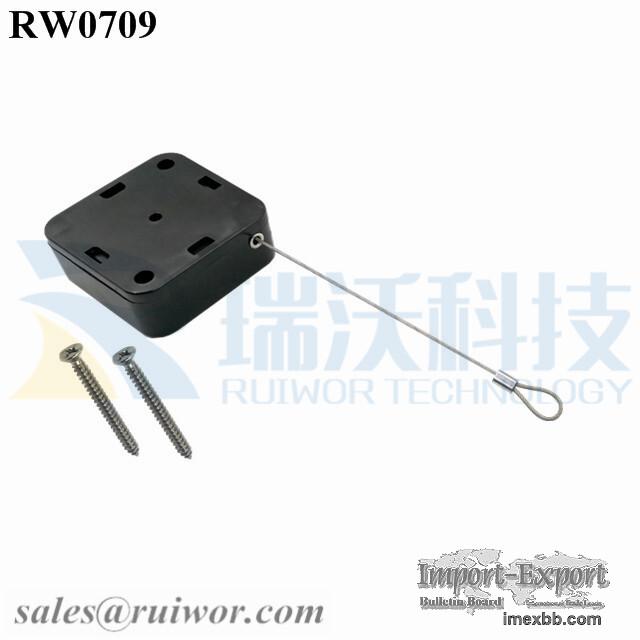 RW0709 Square Heavy Loss Prevention Device Anti Theft Pull Box