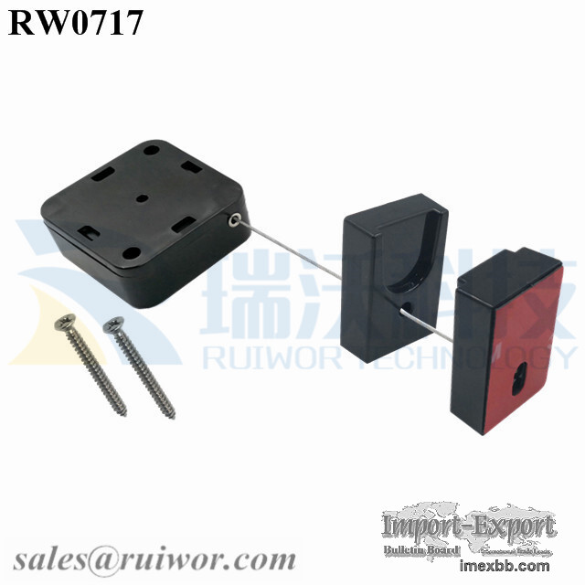 RW0717 Square Heavy Security-pulling Anti Theft String Plus Magnetic Holder