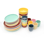 16PCS dinnerware set ceramic porcelain stoneware dinner set