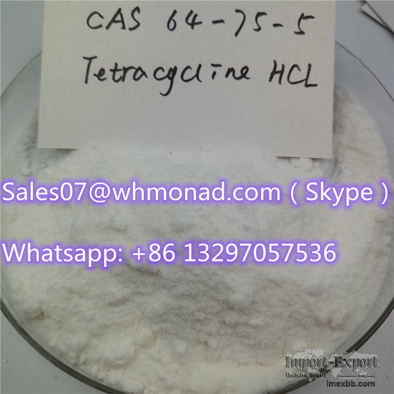 Factory Wholesale Price Good Quality cas64-75-5 Tetracycline hydrochloride