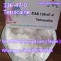 Factory Direct Sale Good Quality CAS 136-47-0 tetracaine hydrochloride usp