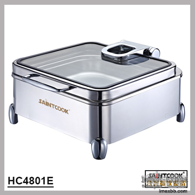 HC4801E hydraulic induction chafing dish,buffet server food warmer