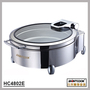 HC4802E  Round hydraulic induction chafing dish,food warmer