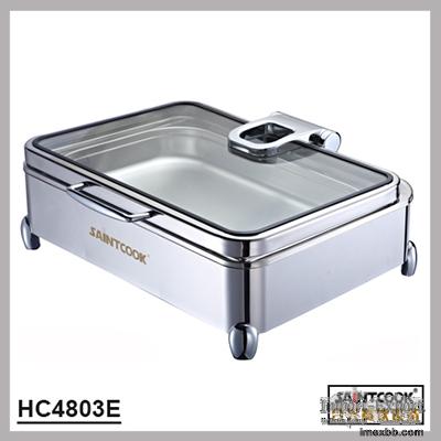 HC4803E  1/1 size hydraulic induction chafing dish,buffet service equipment