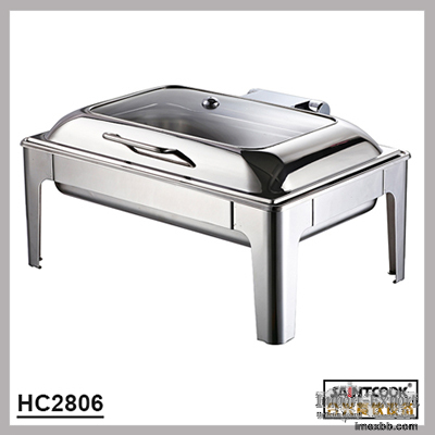 HC2806  hydraulic chafing dish,buffet equipment food warmer