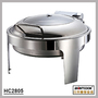 HC2805  stainless steel round chafing dish,buffet server food warmer