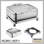 HC3801/HCF-1  hydraulic induction chafing dish,food warmer