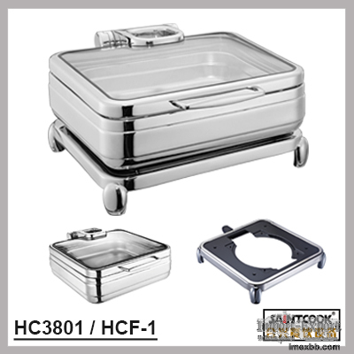 HC3801/HCF-1  hydraulic induction chafing dish,food warmer