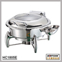 HC1805F Round hydraulic induction chafing dish,buffetware food warmer