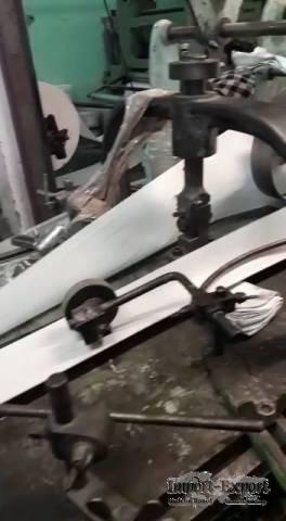 Flat/Satchel bag making machine with 2 color printer