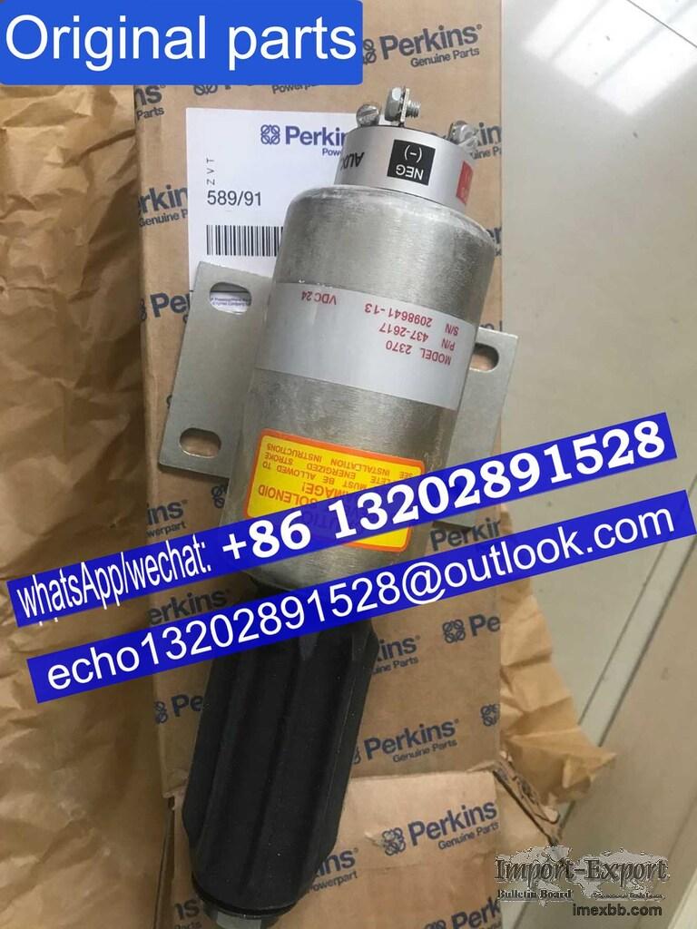 perkins engine parts 4006/4008/4012/4016 Dorman generator SOLENOID 589/91