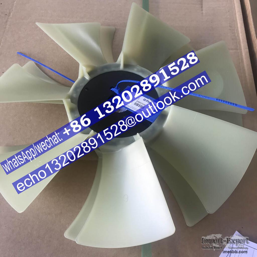 Fan Blade 2485C546 T400970 for 1103 1104 Perkins power parts/ Geunine orign