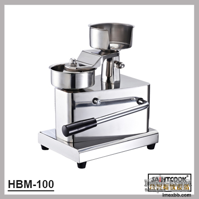 HBM-100 stainless steel hamburger patty press,hamburger machine with LFGB