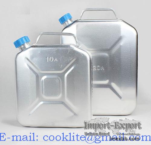 Aluminium Blikjes / Aluminium Jerrycan / Aluminium Reservekanister
