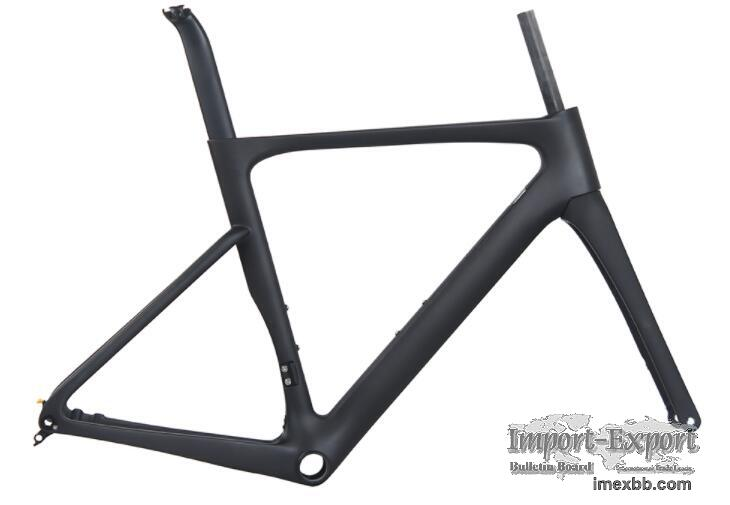 FULL CARBON ROAD BICYCLE FRAME ULTRALIGHT HIGH COST PERFORMANCE 268