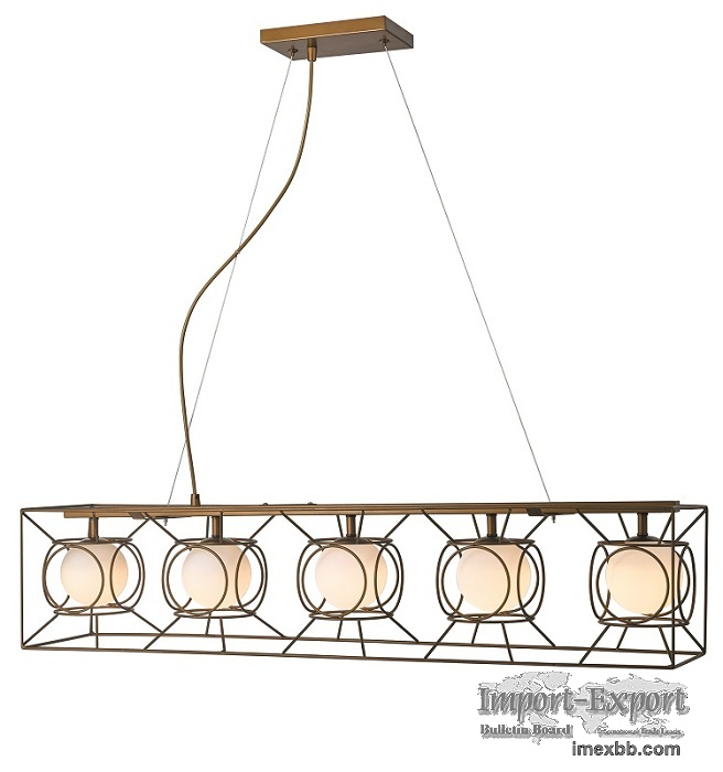 Glass pendant lamp NC6144P-5