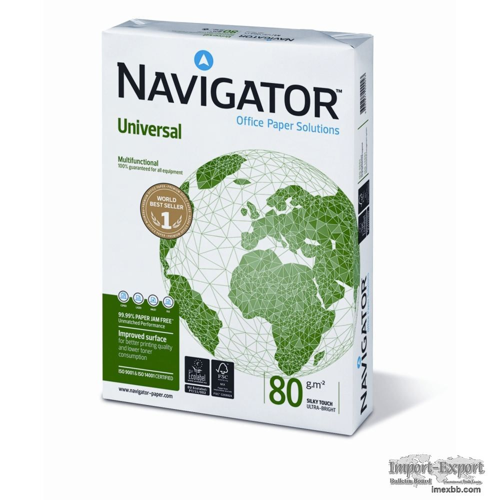 Navigator and Double A A4 Copy Paper
