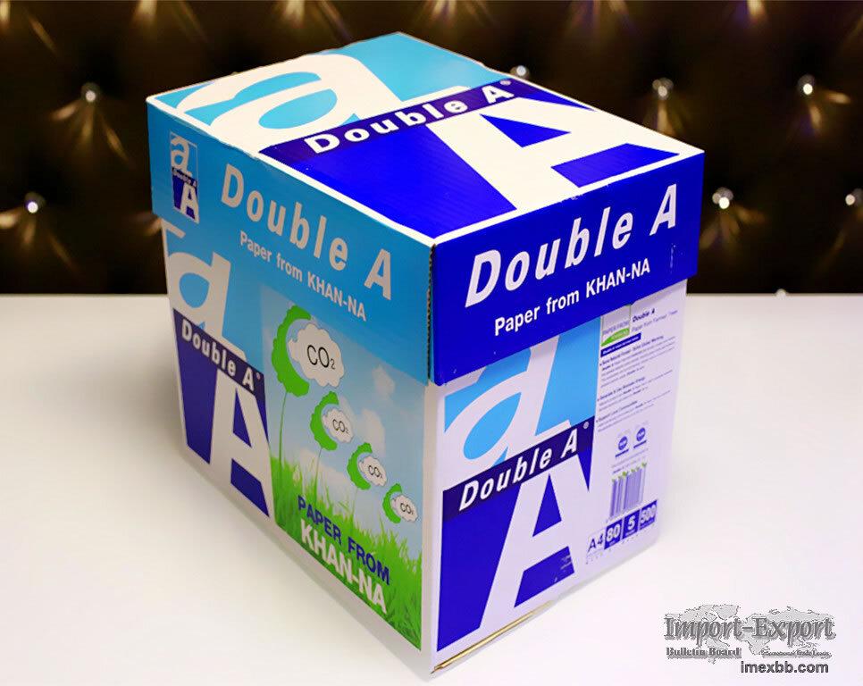 A4 Paper 80gsm Double A A4 Copy Paper.