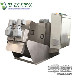 MD132 sludge dewatering screw press
