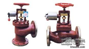 marine pneumatic quick-closing valve