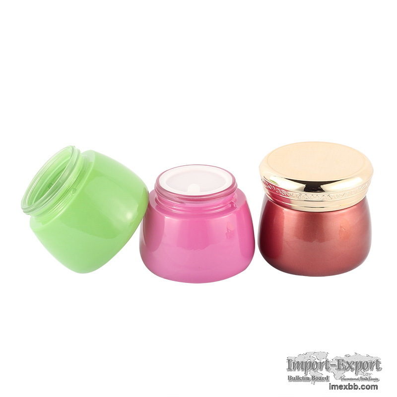 High Quality Glass Cosmetic Cream ContainerBottle BrandQiaojun Glass