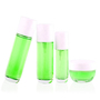 New Bottles Sets Pump Cosmetic Glass Packaging Bottle Set Brand	Qiaojun Gla
