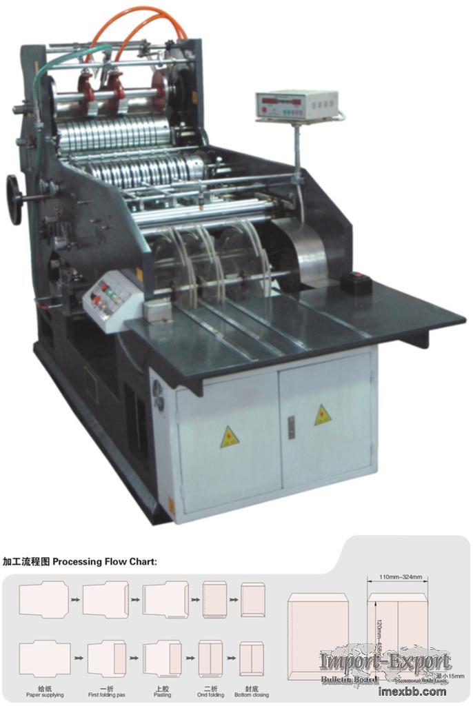 High Speed Envelope & Paper Bag Making Machine Model WF-220