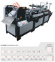 Auto Envelope with silicone paper sealing Machine Model ZF-390B