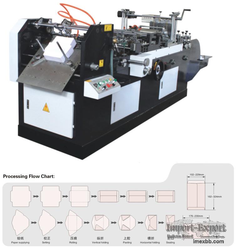 Automatic Envelope Making Machine Model ZF-400B