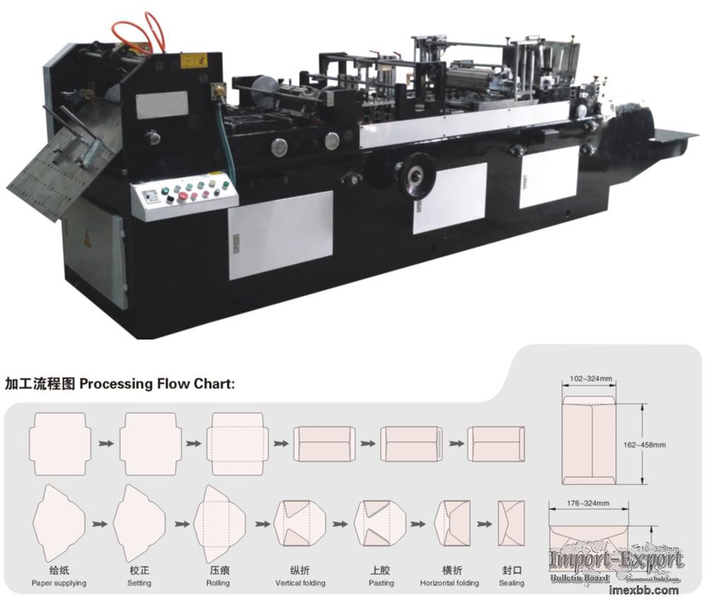 Automatic Envelope Making Machine Model ZF-510