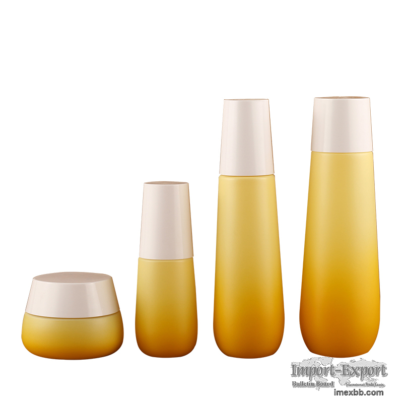 Fashionable Empty Packing Cosmetic Container Bottle BrandQiaojun Glass