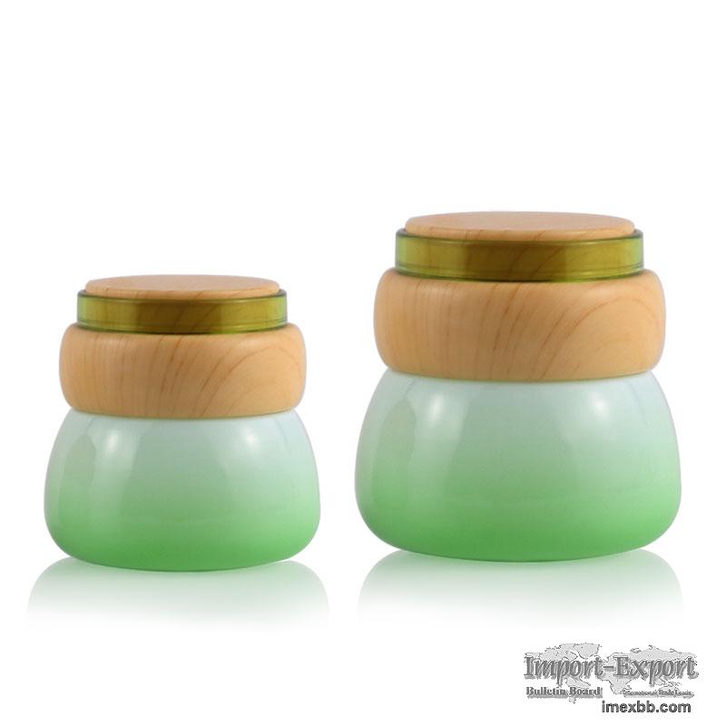 Product NameFashionable Fancy 50Ml Green Cosmetic Glass Cream Jar