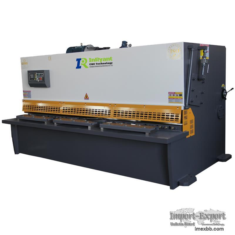 QC11K Series hydraulic shearing machine for steel cutting
