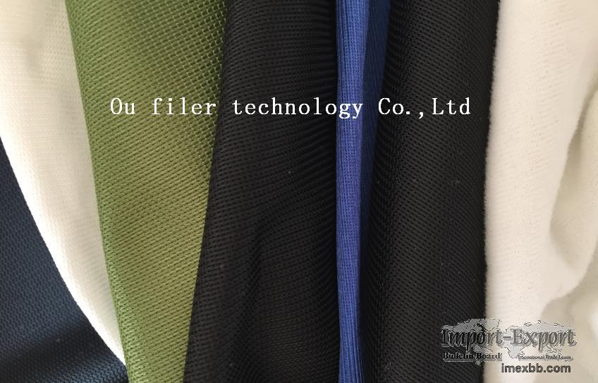 Knitting filter fabric / Knitted filter cloth