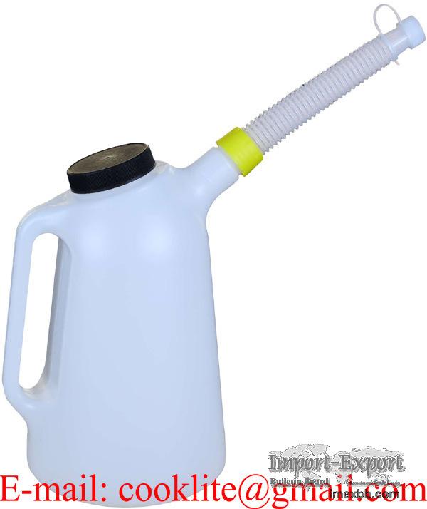 Пластиковый кувшин для раздачи масла 3 литра