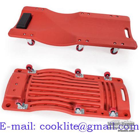 Подкатная тележка для ремонта автомобиля / Лежак автослесаря улучшеный