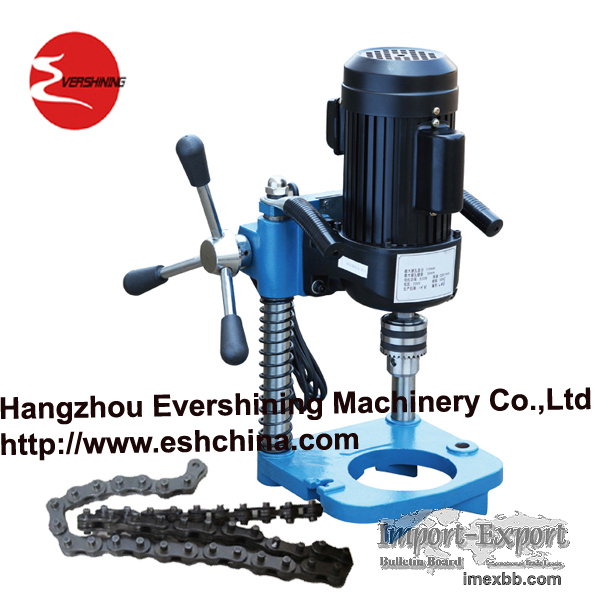 electric pipe drilling machine